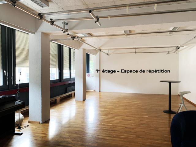 1er étage – Espace de répétition