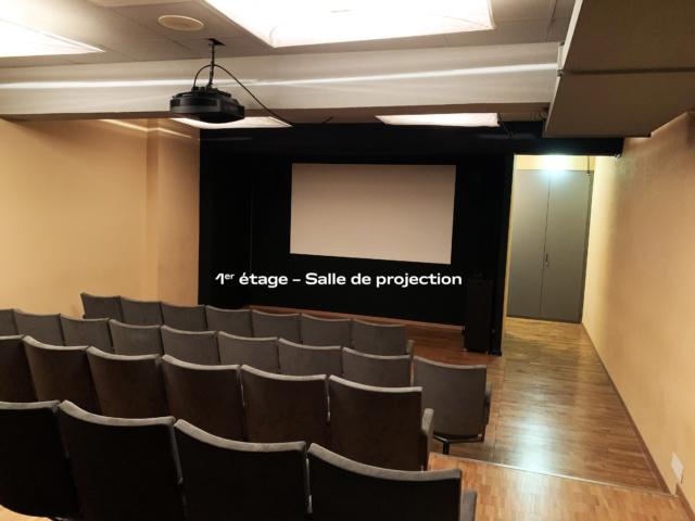 1er étage – Salle de projection