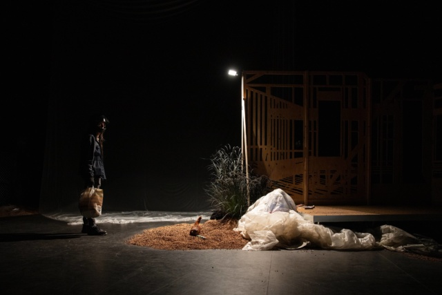 Photo de scène du spectacle La Possession, © Samuel Rubio