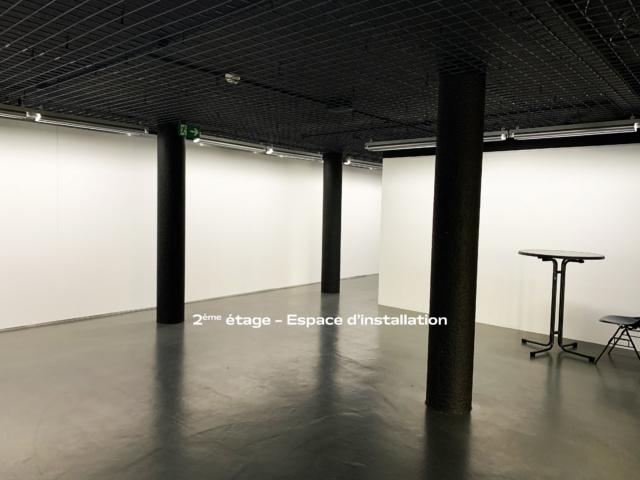 2ème étage – Espace d'exposition, entrée