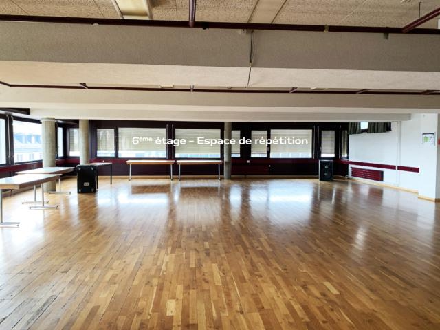 6ème étage – Espace de répétition