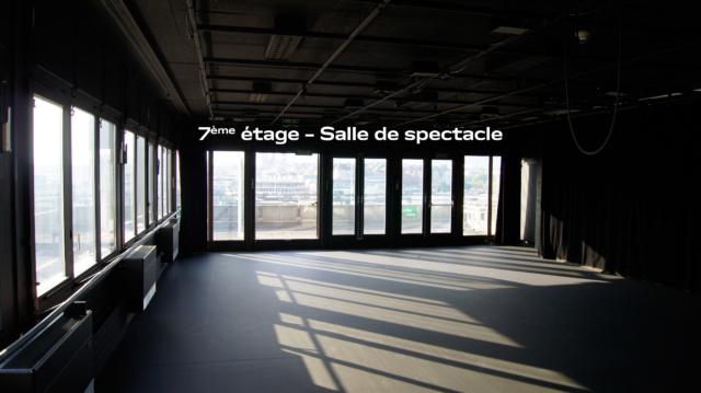 7ème étage – Salle de spectacle