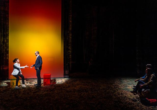 Photos de scène du spectacle FEU DE TOUT BOIS d'Antoine Defoort