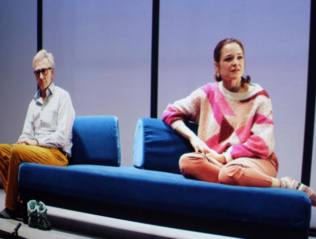 photo illustrative du spectacle Le sexe c'est dégoûtant d'Antoine Jaccoud et Matthias Urban, crédit Céline Michel