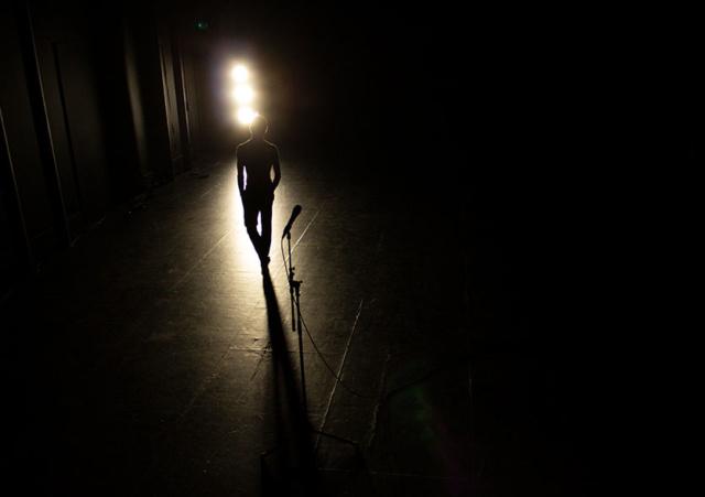 Visuel du spectacle FAIM de Julien Meyer, © Association à verse
