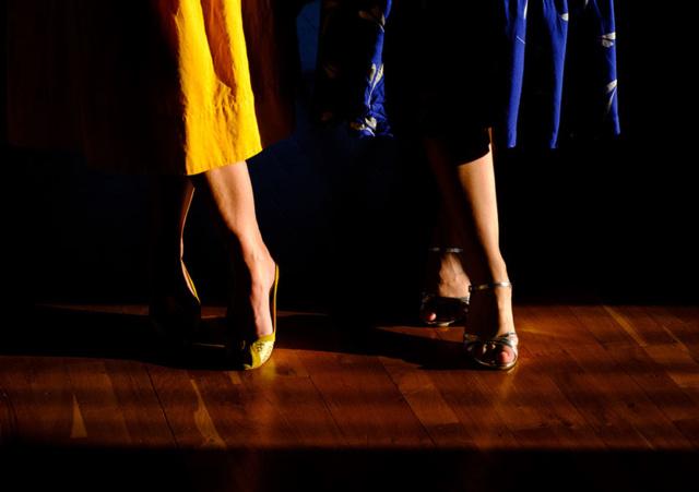 Photo du spectacle Le Grand Dancing de Virginie Schell et Julien Basler, © Laurent Nicolas