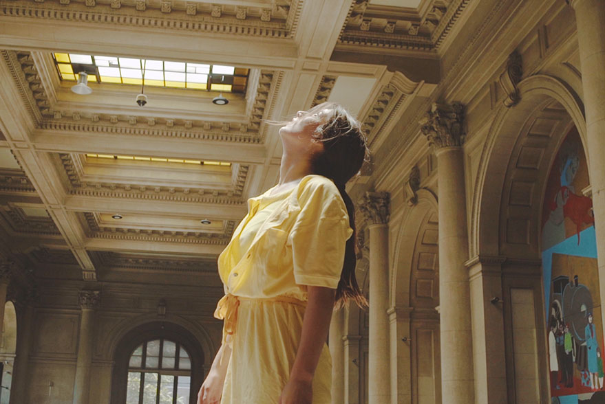 Image tirée du film Les Revenants de Luciana Acuña et Alejo Moguillansky
