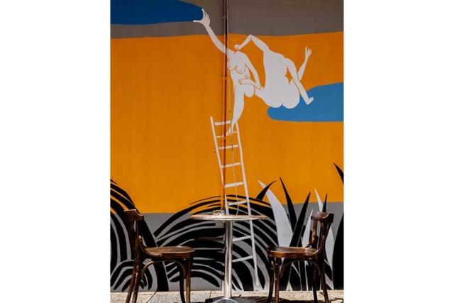 photo de la terrasse du restaurant
