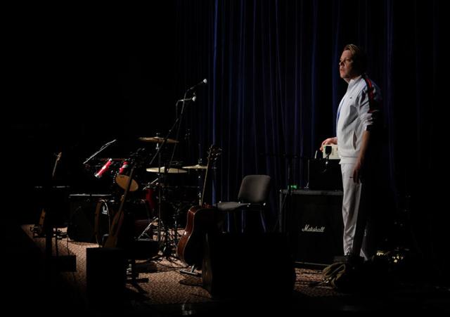 Photo de scène du spectacle STEVE JOBS de Robert Cantarella, avec Nicolas Maury